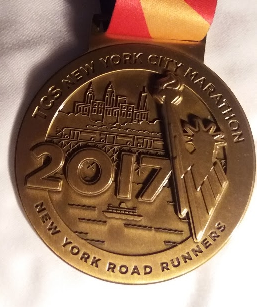 """I am – I can – I will"" : New York City Marathon 5th November 2017"
