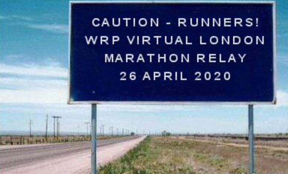 The WRP Virtual London Marathon Relay 2020
